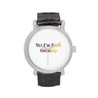 Soy sí de Alemania Reloj