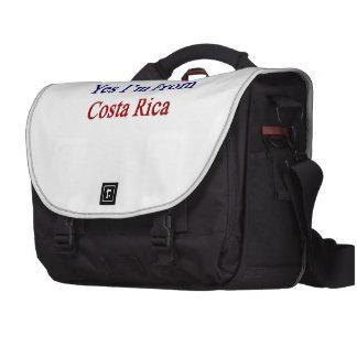 Soy sí de Costa Rica Bolsas Para Ordenador
