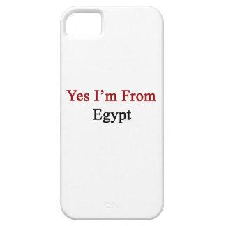 Soy sí de Egipto iPhone 5 Case-Mate Carcasas