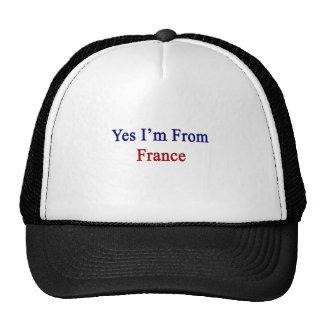 Soy sí de Francia Gorra
