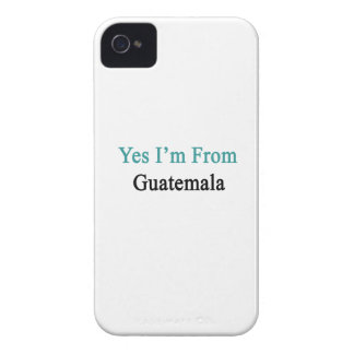 Soy sí de Guatemala iPhone 4 Case-Mate Carcasa