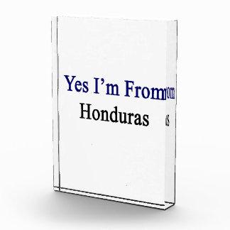 Soy sí de Honduras