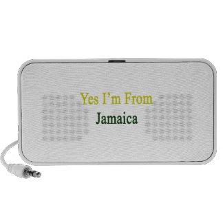 Soy sí de Jamaica Portátil Altavoz