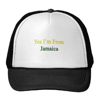 Soy sí de Jamaica Gorro De Camionero