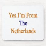 Soy sí de los Países Bajos Alfombrillas De Ratones