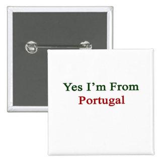 Soy sí de Portugal Pin