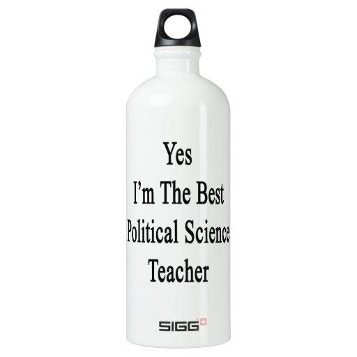 Soy sí el mejor profesor de ciencias político