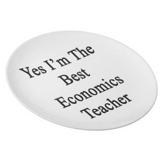 Soy sí el mejor profesor de la economía plato