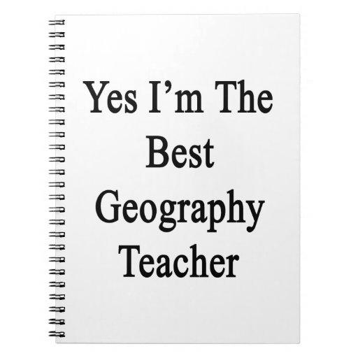 Soy sí el mejor profesor de la geografía libros de apuntes