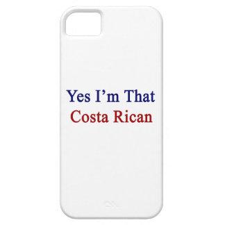 Soy sí esa costa Rican iPhone 5 Fundas