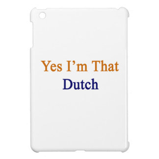 Soy sí ese holandés