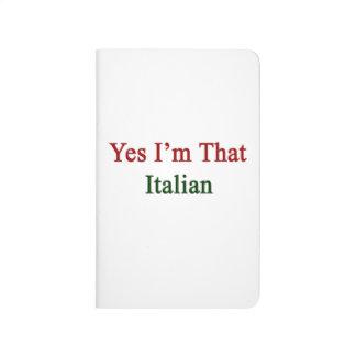 Soy sí ese italiano