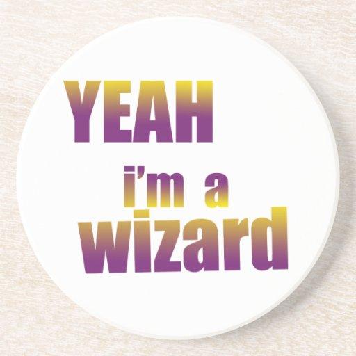 Soy sí mago posavasos personalizados