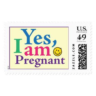 Soy sí sello embarazada