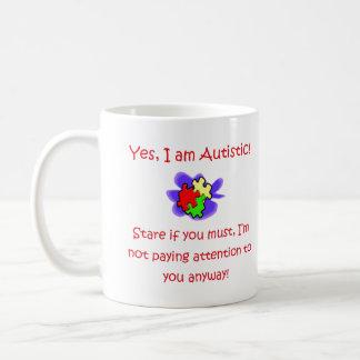 Soy sí taza autística