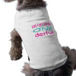 Soy sí totalmente uno derful (el chica) camisa de perro