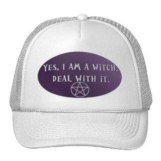 ¡Soy sí una bruja, trato con él! Gorro De Camionero