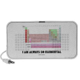 Soy siempre elementos de tabla periódica tan iPod altavoces