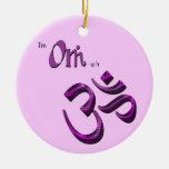 Soy símbolo Aum de OM-ish OM Adorno Para Reyes