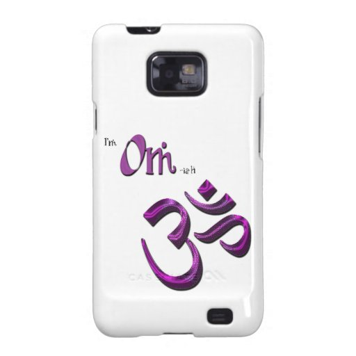 Soy símbolo Aum de OM-ish OM Samsung Galaxy S2 Carcasa