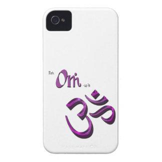 Soy símbolo Aum de OM-ish OM Funda Para iPhone 4