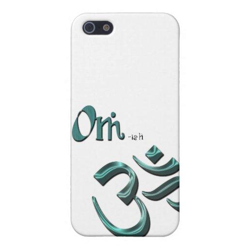 Soy símbolo Aum de OM-ish OM iPhone 5 Fundas