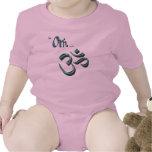 Soy símbolo símbolo budista/hindú de Aum de OM-ish Trajes De Bebé