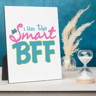Soy Smart BFF Placas De Plastico