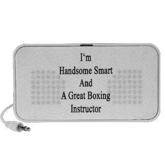 Soy Smart hermoso y gran instructor del boxeo Laptop Altavoz