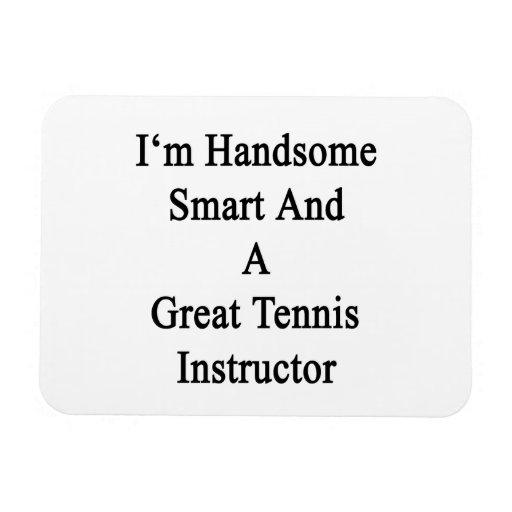 Soy Smart hermoso y gran instructor del tenis Iman Flexible
