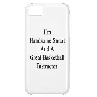 Soy Smart hermoso y un gran baloncesto da instrucc Funda Para iPhone 5C
