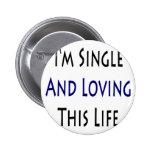 Soy solo y de amor de esta vida pin