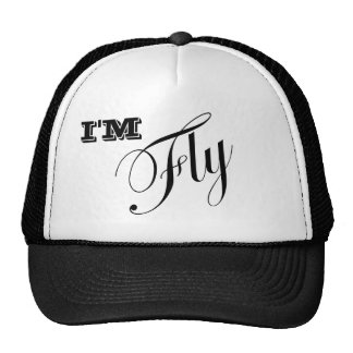 Soy sombrero de los camioneros de la mosca gorras de camionero