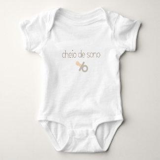 Soy soñoliento (en portugués) body para bebé