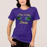 Soy sonrisa linda - diseñe Bella de las mujeres Camiseta