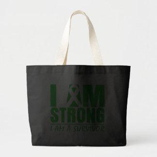 Soy - soy un superviviente - enfermedad de riñón f bolsa lienzo
