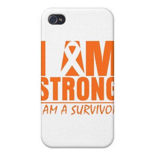 Soy - soy un superviviente - esclerosis múltiple f iPhone 4/4S fundas