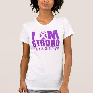 Soy - soy un superviviente - lupus fuerte tee shirt