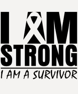 Soy - soy un superviviente - melanoma fuerte tshirts