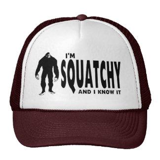 ¡Soy Squatchy… y lo sé! Gorros Bordados