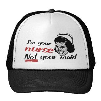 Soy su enfermera gorra