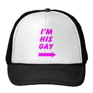 Soy su gay gorros bordados