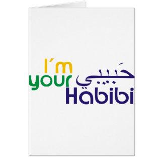 Soy su Habibi Tarjeta De Felicitación
