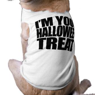 Soy su invitación de Halloween Camisetas Mascota