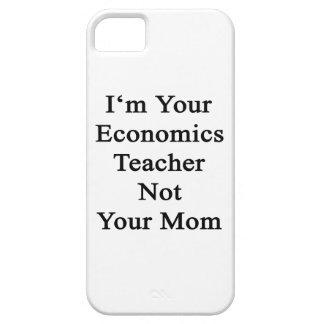 Soy su profesor de la economía no su mamá iPhone 5 Case-Mate protectores