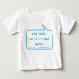 Soy su regalo del día de padre tee shirts