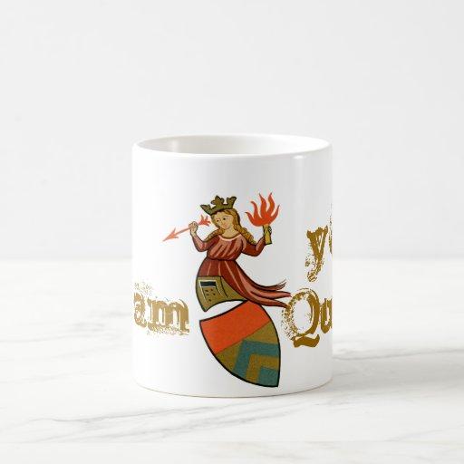 Soy su reina tazas de café