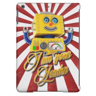 Soy su robot del juguete del vintage del líder funda para iPad air