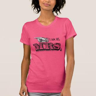 Soy SU señora Bride T-shirt Camisetas