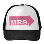 Soy su señora (la flecha de las rosas fuertes) gorras de camionero